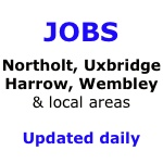 Job vacancies in Northolt, Greenford, Eastcote, Harrow, Ruislip, Southall, Pinner, Wembley, Uxbridge