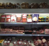 Delicatessen meats at Crawfords