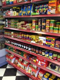 Grocery tins, packets, quality food