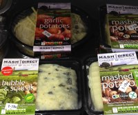 Potato cakes, Garlic mash spuds, quality Irish food
